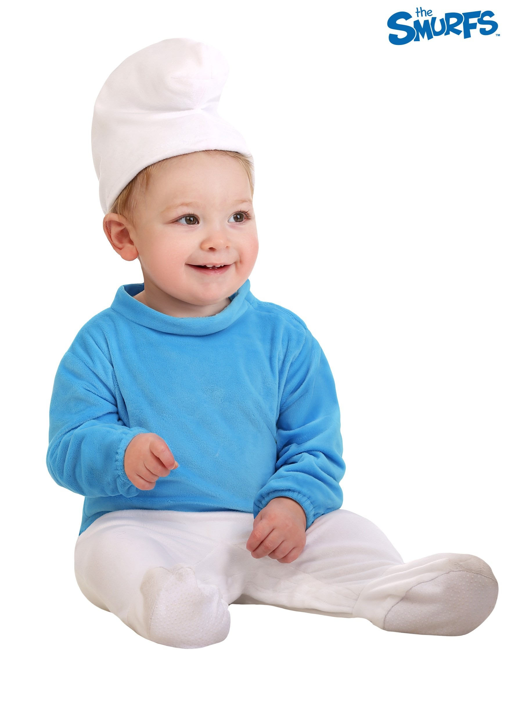 The Smurfs Smurf Infant Toddler Child Cute Costume