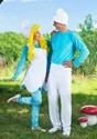 The Smurfs Adult Smurf Costume Alt 4