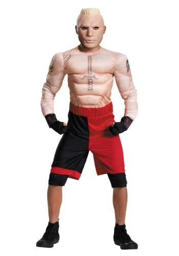 Child WWE Brock Lesnar Muscle Costume