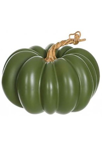 "5"" Green Pumpkin Halloween Decoration"