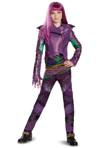 Click Here to buy Mal Descendants 2 Kids Prestige Costume from HalloweenCostumes, CDN Funds