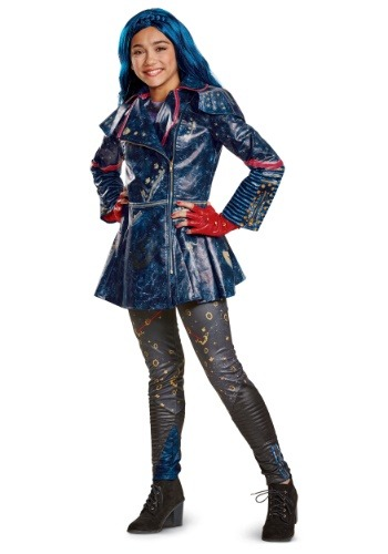 Click Here to buy Evie Descendants 2 Kids Prestige Costume from HalloweenCostumes, CDN Funds