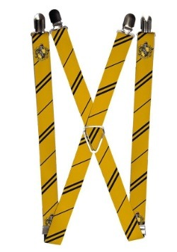 "Harry Potter Hufflepuff 1"" Suspenders"