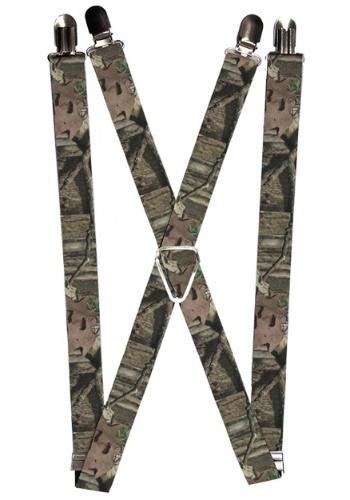 """Mossy Oak 1"""" Suspenders"""