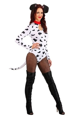 Women's Dashing Dalmatian Costume1