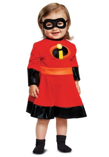 Click Here to buy Baby Incredibles 2 Violet Costume from HalloweenCostumes, CDN Funds