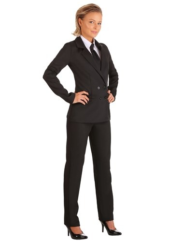 Womens Black Suit