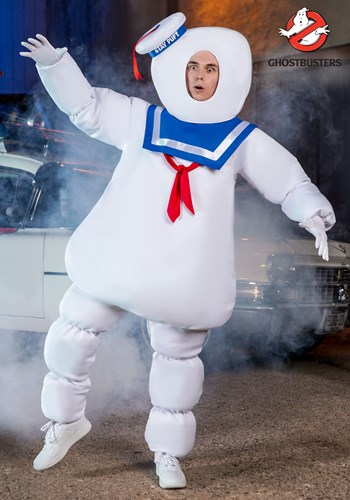 Ghostbusters Adult Stay Puft Costume 1