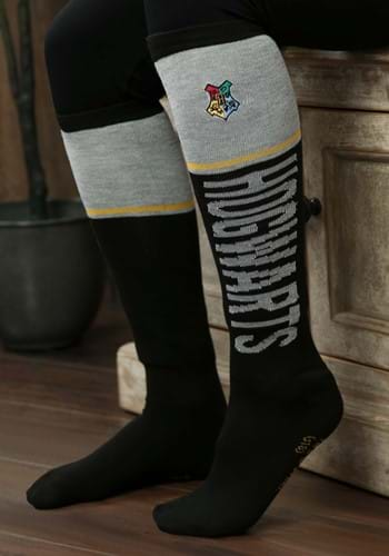 Harry Potter Hogwarts Womens Knee High Socks Update Main