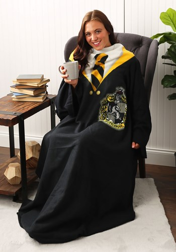 Hufflepuff Harry Potter Comfy Throw Main Update