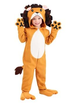 Toddler Wooly Lion Costume