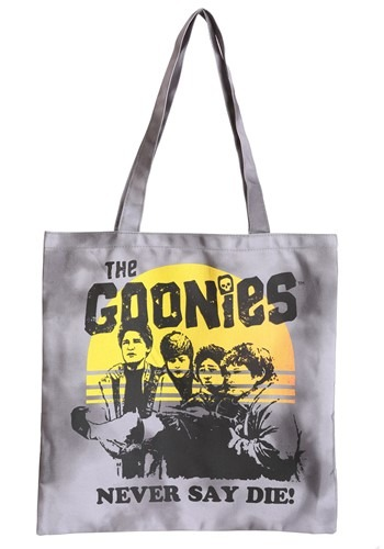 Goonies Never Say Die! Canvas Treat Bag