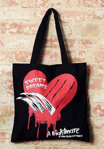Nightmare on Elm Street Canvas Tote Treat Bag