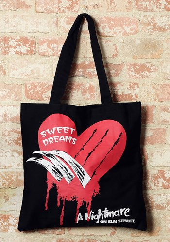 Nightmare on Elm Street Canvas Treat Bag Update