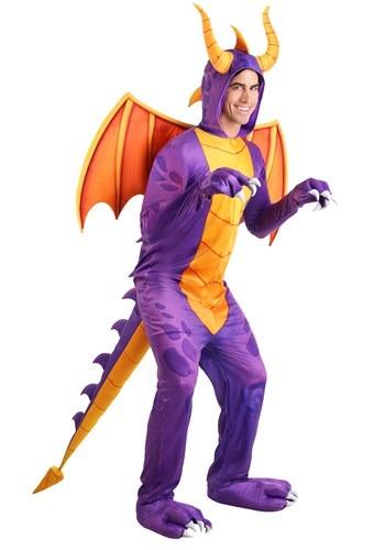 Spyro the Dragon Adult Jumpsuit Costume