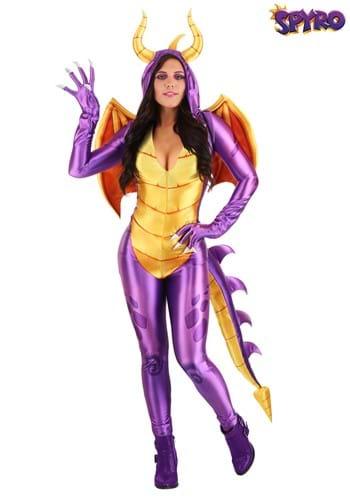 Spyro the Dragon Women's Costume Jumpsuit