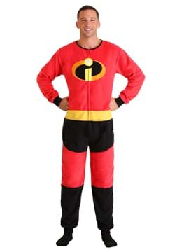 The Incredibles Adult Mr. Incredible Union Suit Upd