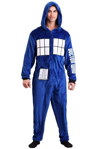 Doctor Who Adult Tardis Union Suit Update