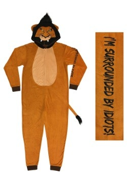 Lion King Scar Union Suit for Men