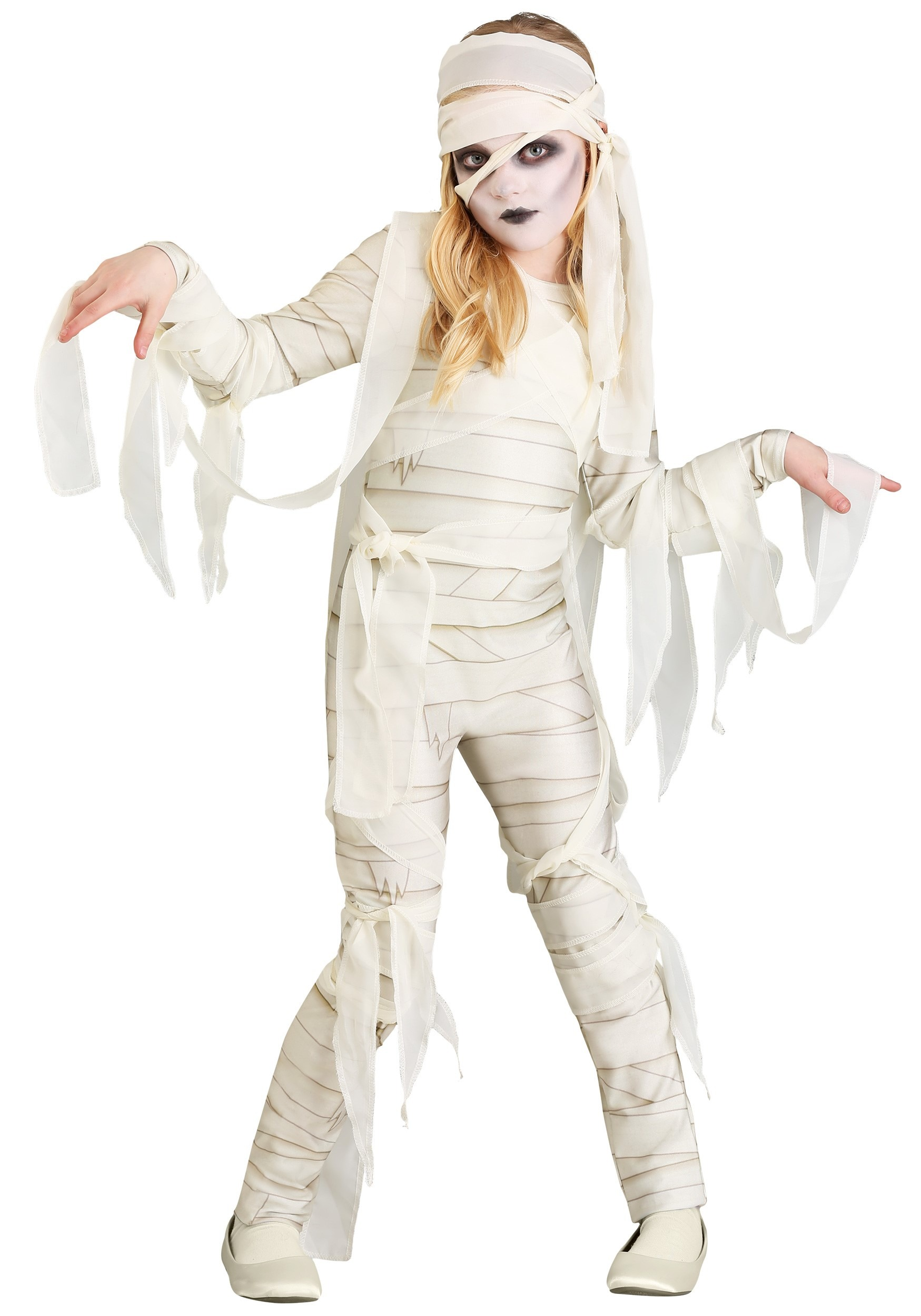 Under Wraps Mummy Costume for Girls