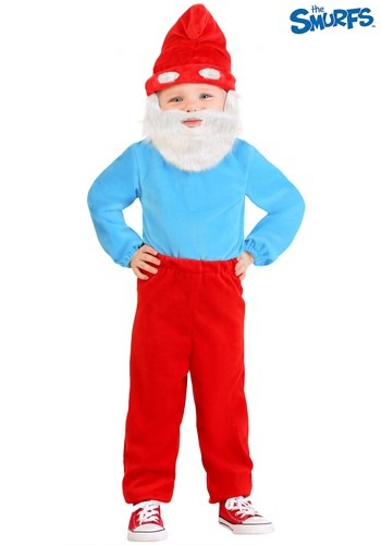 The Smurfs Toddler Papa Smurf Costume