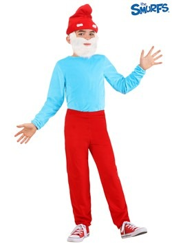 The Smurfs Child Papa Smurf Costume 1