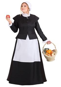Plus Size Womens Thankful Pilgrim Costume