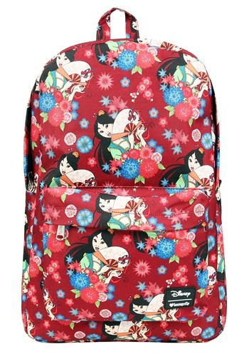 Loungefly Disney's Mulan Floral Print Backpack Accessory