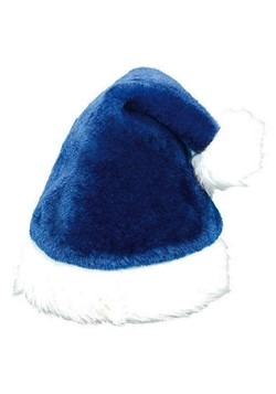 Blue Santa Hat