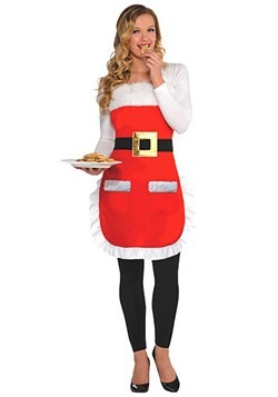 Adult Santa Christmas Apron