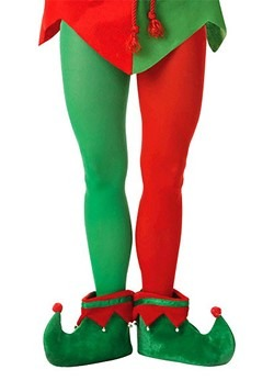 Adult Plus Size Elf Tights