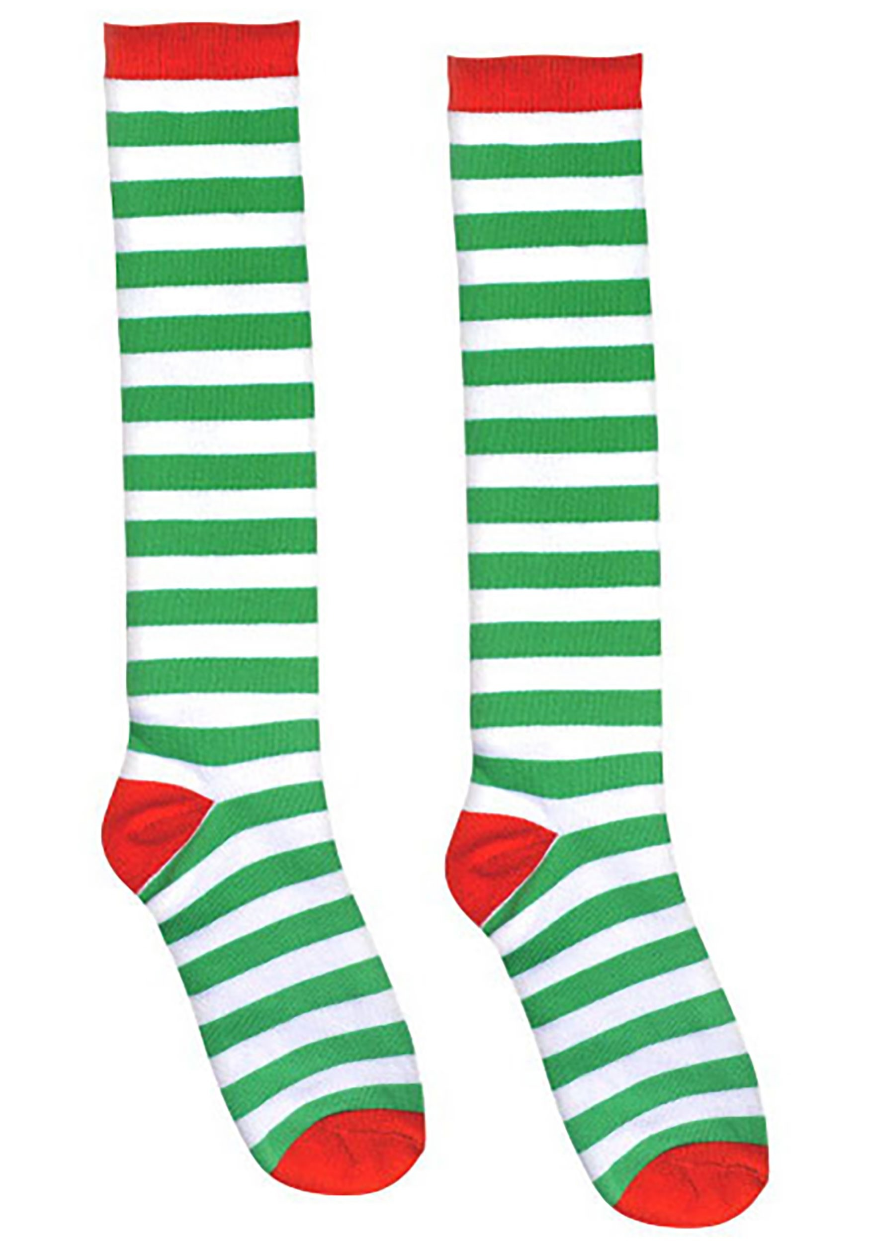 Red_and_Green_Striped_Socks_for_Adults