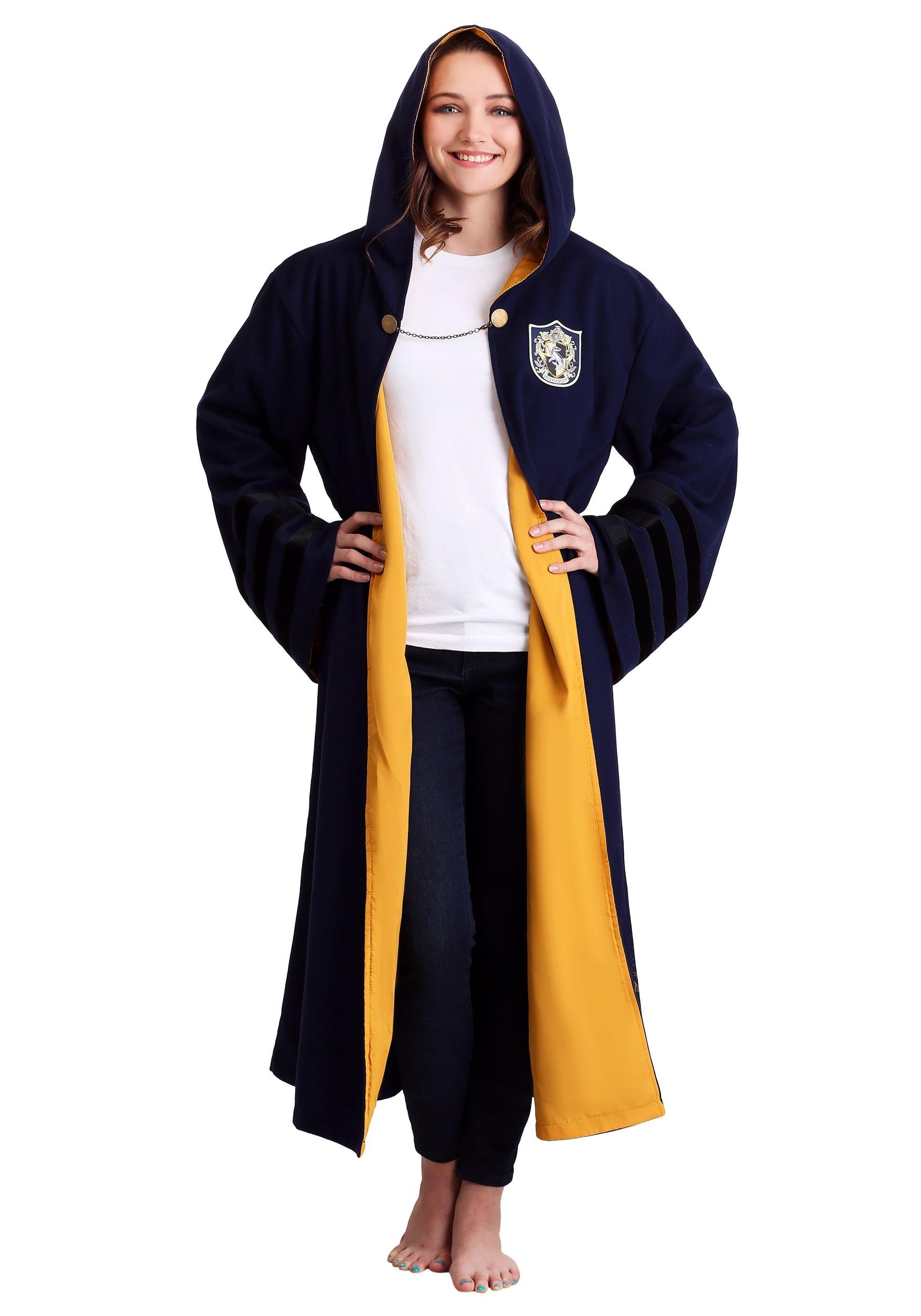 Adults Vintage Harry Potter Hogwarts Hufflepuff Robe