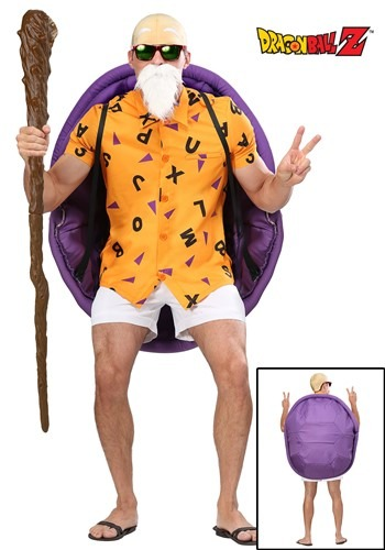 Plus Size Dragon Ball Z Master Roshi Costume Alt