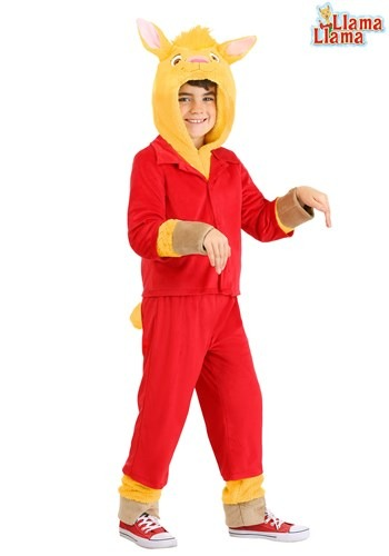 Llama Llama Kids Red Pajama Costume