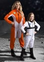 White Astronaut Costume Girl's5