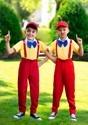 Boy's Dapper Tweedle Dee/Dum Costume Alt 1