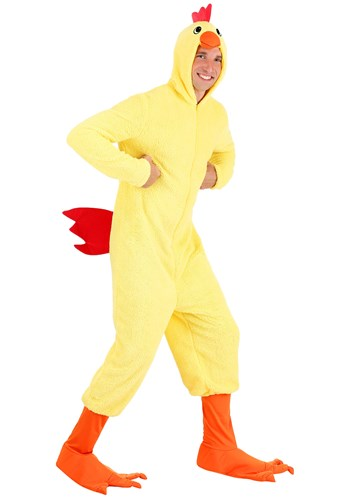Plus Size Cluckin' Chicken Costume