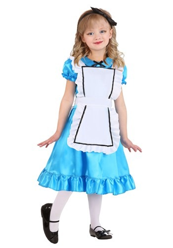 Wonderful Alice Toddler Girls Costume