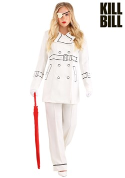 Kill Bill Elle Driver Trench Coat Women's Costume