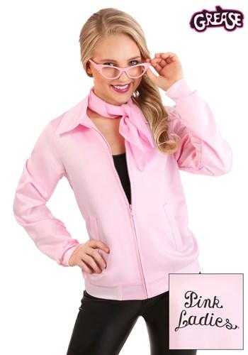 Grease Pink Ladies Costume Jacket Inset