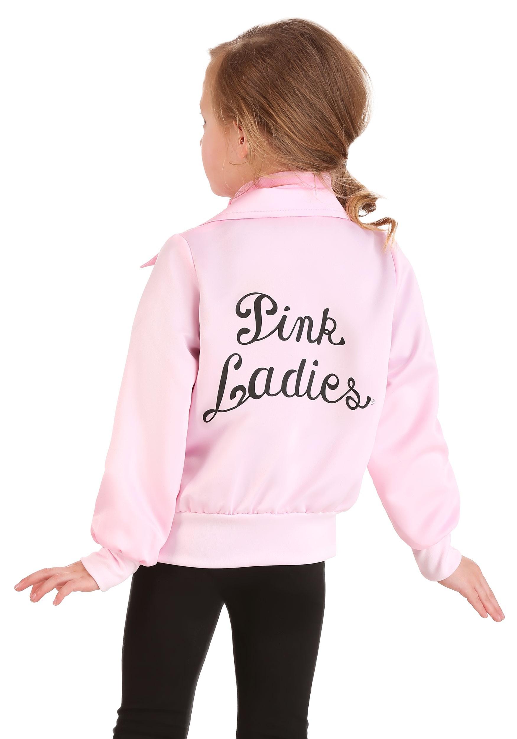 Toddler\u0027s Grease Pink Ladies Costume Jacket