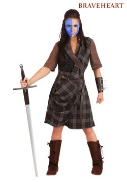 Braveheart Warrior Costume for Plus Size Women