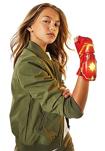 Click Here to buy Kids Captain Marvel Photon Power FX Glove from HalloweenCostumes, CDN Funds