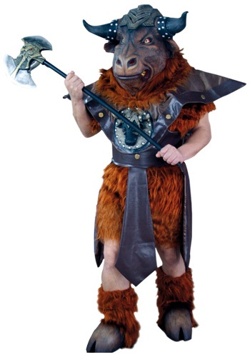 Adult Minotaurus Costume By: Ghoulish Productions for the 2015 Costume season.