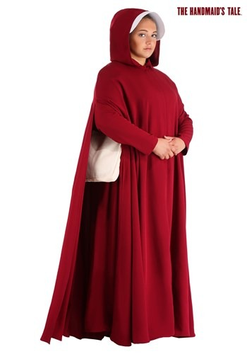 Handmaid's Tale Deluxe Womens Plus Size Costume1
