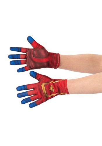 Click Here to buy Captain Marvel Gloves for Girls from HalloweenCostumes, CDN Funds