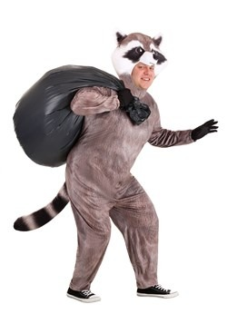 Plus Size Realistic Raccoon Costume Main 2