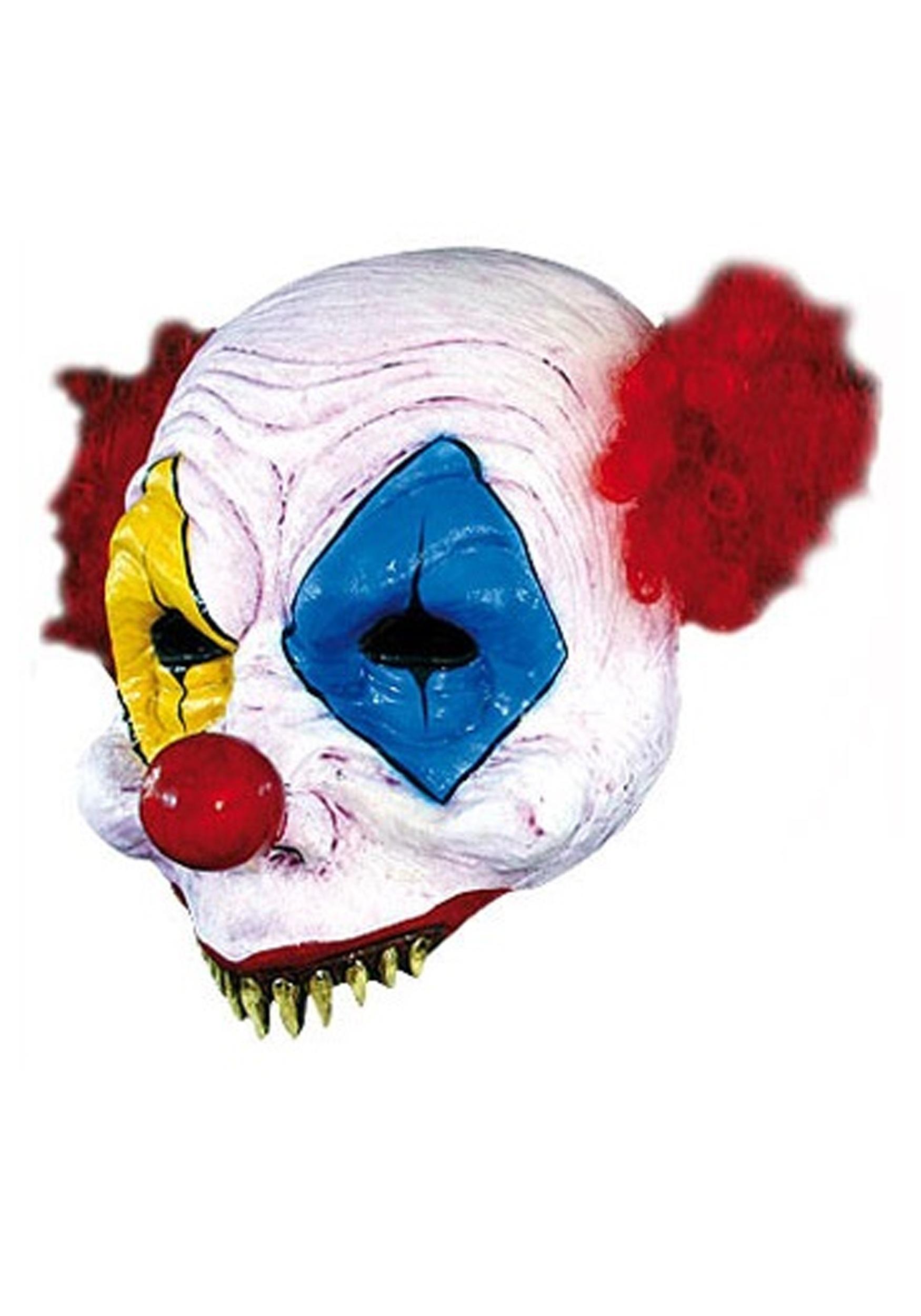 Scary Clown Half Mask GH26162