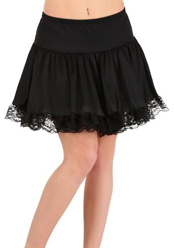 Women's Black Lace Petticoat